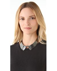 Adia Kibur - Gray Hematite Collar - Lyst