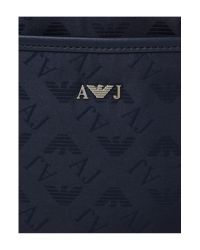 Armani Jeans Blue Travel Bag for men