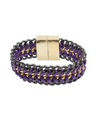 Bex Rox | Purple Matchbox Cuff | Lyst