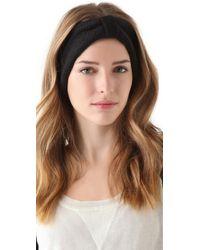 Cheap Monday Black Hairy Headband