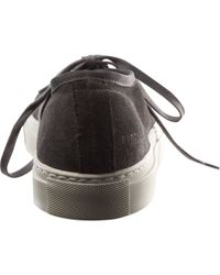 Common Projects Gray Vintage Low Top Cap Toe Sneaker for men