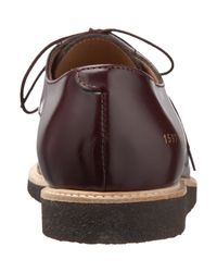 Common Projects Red Derby Blucher for men