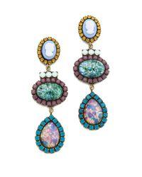 DANNIJO Multicolor Kendra Earrings