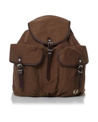 Fred Perry Brown Rucksack for men