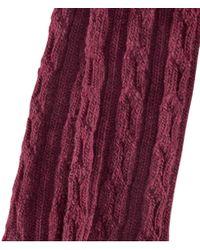 H&M Purple Overknee Socks