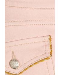 Isabel Marant | Pink Marso Midrise Skinny Jeans | Lyst