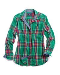 Madewell Penfield Haverhill Flannel Shirt In Green Lyst