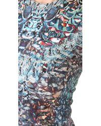 McQ Alexander McQueen | Multicolor Digitally Printed Dress | Lyst