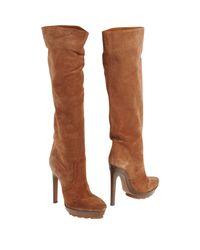 Michael Kors | Brown High Heeled Boots | Lyst