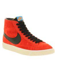 Nike Blazer Mid Challenge Red Black Mandarin Photo Blue for men