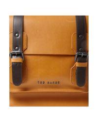 Ted Baker Brown Leather Satchel for men