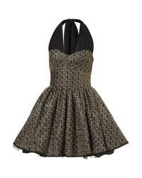 TOPSHOP Black Hannah Dress By Jones and Jones