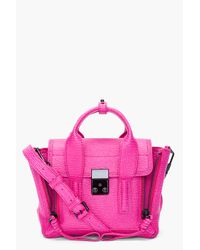 3.1 Phillip Lim | Pink Fuchsia Pashli Mini Satchel | Lyst