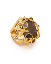Alexis Bittar - Gray Allegory Clustered Vine Ring - Lyst