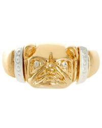 ASOS   Metallic Bulldog Ring   Lyst