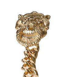ASOS | Metallic Lion Spike Collar Tips | Lyst