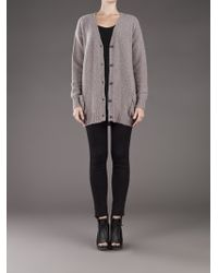 Avant Toi Gray Liapull Sweater