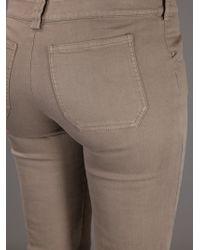 Balenciaga Natural Drainpipe Jeans