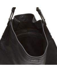Belstaff Black Large Calden Hobo Bag