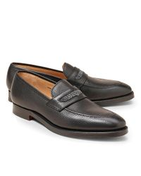 Brooks Brothers Black Peal & Co.® Penny Loafers for men