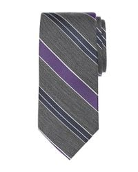 Brooks Brothers   Gray Bb#1 Repp Tie for Men   Lyst