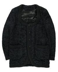 Comme des Garçons Black Comme Des Garcons Homme Plus Mens Mogol Yawn Cloth Jacket for men