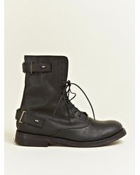 Damir Doma Black Damir Doma Mens Feon Boots for men