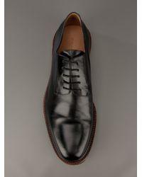 Dries Van Noten Black Commando Sole Shoe for men