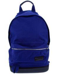 Kris Van Assche Eastpak Blue Zip Fastened Backpack for men