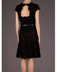 Emilio Pucci | Black Lace Overlay Dress | Lyst