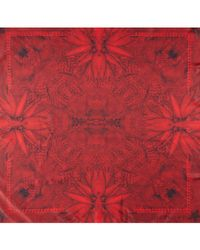 Givenchy | Red Paillettes Paradise Scarf | Lyst