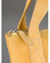 Henrik Vibskov Yellow Perforated Shopping Bag for men