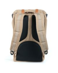 Herschel Supply Co. Natural Little America Canvas Backpack for men