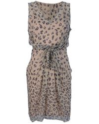 INTROPIA Multicolor Leopard Print Dress