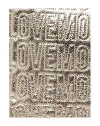 Love Moschino Metallic Tote