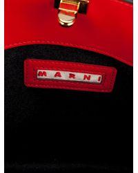 Marni | Red Borsa Mano Tote | Lyst
