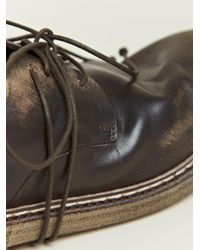 Marsèll Brown Marsell Mens Cerata Derby Shoes for men