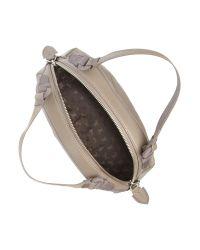 Radley Gray Burnt Oak Embossed Medium Xbody Bag