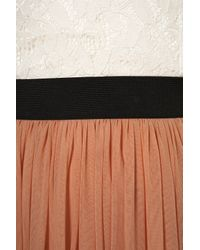 TOPSHOP Brown Bustier Maxi Dress By Cocos Fortune