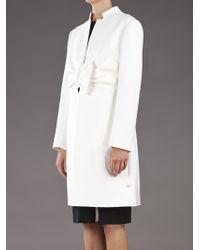 Valentino White Bow Waist Coat