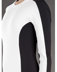 3.1 Phillip Lim | Black Lightweight Long Sleeved Shadow Dress | Lyst