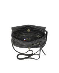 Abaco Black Diago Java Crossbody Bag