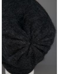Acne Studios Black Kim Mohair Hat