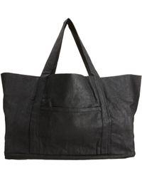 DRKSHDW by Rick Owens Black Large Beach Bag for men