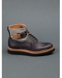 Heschung Gray Cypress Boots for men