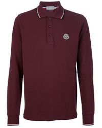 Men's Purple Logo Polo Shirt