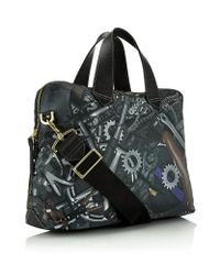 Paul Smith Black Cycle Print Holdall for men