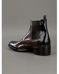 Premiata Brown Chelsea Boots for men