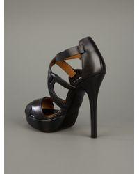 Ralph Lauren - Black Jesita Platform Sandal - Lyst