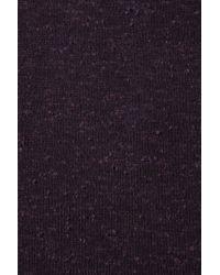 TOPSHOP Purple Fleck Oversized Top